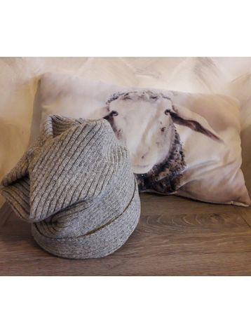 Bonnet pure laine long