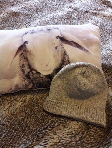 Bonnet pure laine rond