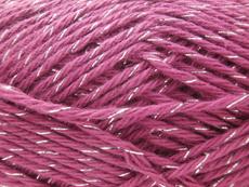coton lurex violet